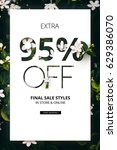 brilliant promotion sale styles ... | Shutterstock . vector #629386070