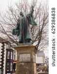 Small photo of Bala Wales UK - April 27 2017: The Statue of Thomas Edward Ellis on the high street of Bala. Also known as Tom Ellis he was a Welsh Liberal politician and a prominent advocate for home rule
