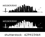 melbourne skyline   australia