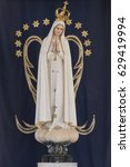 the official statue of our lady ... | Shutterstock . vector #629419994