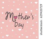mother's day   Shutterstock .eps vector #629420729