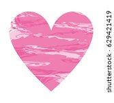 heart shape color design   Shutterstock .eps vector #629421419