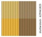 set of four basket textures | Shutterstock .eps vector #629461823