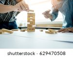 hand of engineer playing a... | Shutterstock . vector #629470508