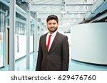 happy indian business man in... | Shutterstock . vector #629476760