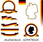 germany banner set. vector...