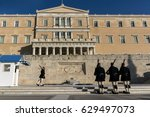 athens  greece   january 19... | Shutterstock . vector #629497073
