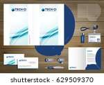 folder template design for... | Shutterstock .eps vector #629509370