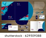 folder template design for... | Shutterstock .eps vector #629509388