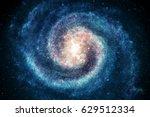 galaxy in space  beauty of... | Shutterstock . vector #629512334