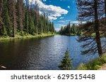Lake Irene In Rocky Mountain...
