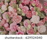 flower bouquets   bunch of... | Shutterstock . vector #629524340