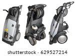 portable pressure washer...   Shutterstock . vector #629527214