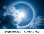 a rare natural phenomenon   a... | Shutterstock . vector #629543759
