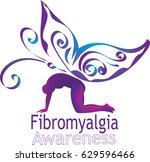 Fibromyalgia Awareness Symbol...