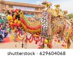 bikaner  india  14th january... | Shutterstock . vector #629604068