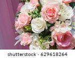 background floral variety.  | Shutterstock . vector #629618264