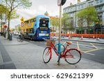 dublin  ireland. 6th april ... | Shutterstock . vector #629621399