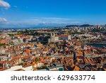 aerial view of porto  portugal   Shutterstock . vector #629633774