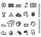 soccer icons   Shutterstock .eps vector #629644166