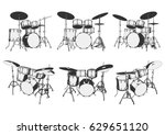 Drum Set. Drum Kit. Drums....