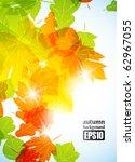 autumn background  eps10 | Shutterstock .eps vector #62967055