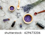 Essential Oil And Lavender Sal...