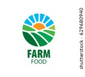 logo farm food | Shutterstock .eps vector #629680940