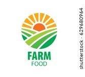 logo farm food | Shutterstock .eps vector #629680964