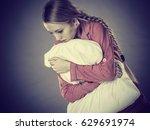 mental health depression... | Shutterstock . vector #629691974