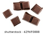 Chocolate Cubes  Pieces Of...