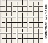 seamless woven stripes lattice... | Shutterstock .eps vector #629715188