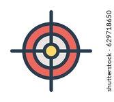 target | Shutterstock .eps vector #629718650