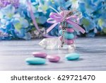 wedding favors. boxes with... | Shutterstock . vector #629721470