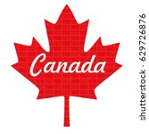 canada 150 maple leaf | Shutterstock .eps vector #629726876