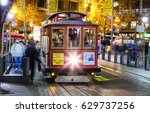 san francisco  usa   november 8 ... | Shutterstock . vector #629737256