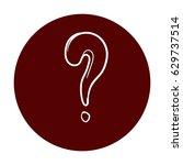 question mark  | Shutterstock .eps vector #629737514
