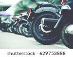 motorcycle parking   Shutterstock . vector #629753888