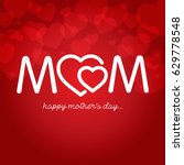 mothers day vector illustration | Shutterstock .eps vector #629778548
