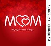mother's day | Shutterstock .eps vector #629778548