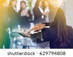meeting corporate success... | Shutterstock . vector #629794808
