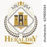 Luxury Heraldic Vector Emblem...