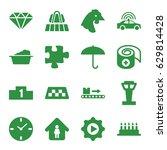 Concept Icons Set. Set Of 16...