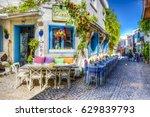 alacati  turkey   april 18 ... | Shutterstock . vector #629839793