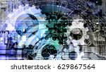 information technology | Shutterstock . vector #629867564