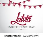 independence day latvia | Shutterstock .eps vector #629898494