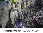 20 march 2014  limestone caves  ... | Shutterstock . vector #629915069
