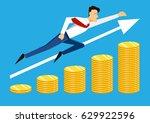 illustration of super leader...   Shutterstock .eps vector #629922596