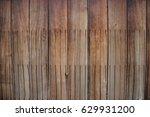 old brown wood texture... | Shutterstock . vector #629931200
