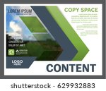 presentation layout design... | Shutterstock .eps vector #629932883
